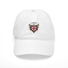 Number One British Dad Baseball Cap