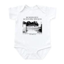 Funny Cemetery Infant Bodysuit