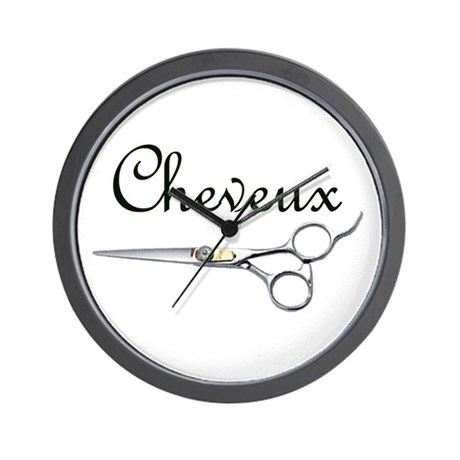 Cheveux Wall Clock