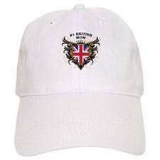 Number One British Mom Baseball Cap