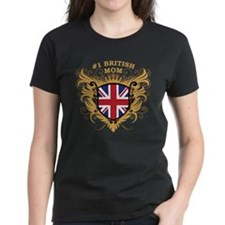 Number One British Mom Tee