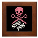 Scrap Punk Framed Tile