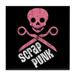 Scrap Punk Tile Coaster