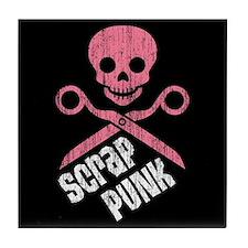 Scrap Punk Tile Coaster