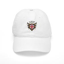 Number One British Grandpa Baseball Cap