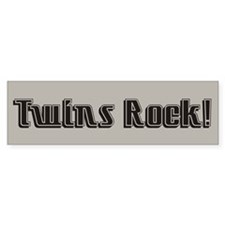 Twins Rock - Twin Bumper Bumper Sticker