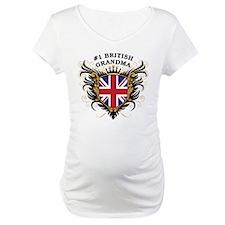 Number One British Grandma Shirt