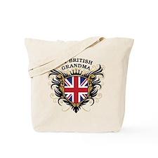 Number One British Grandma Tote Bag