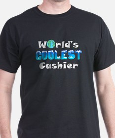 World's Coolest Cashier (A) T-Shirt
