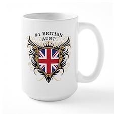 Number One British Aunt Mug
