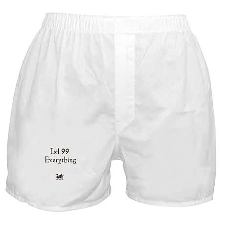 lvl 99 Everything Boxer Shorts
