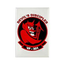 VF 301 Devil's Disciples Rectangle Magnet