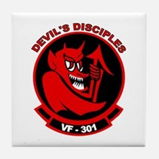 VF 301 Devil's Disciples Tile Coaster