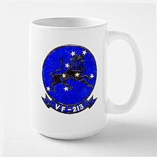 VF 213 Black Lions Large Mug
