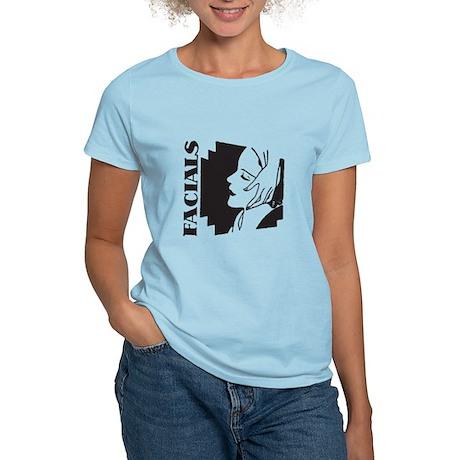 Retro Facials Women's Light T-Shirt
