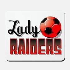 Lady Raiders Soccer Mousepad