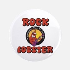 "Rock Lobster 3.5"" Button"
