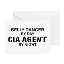Belly Dancing CIA Agent Greeting Cards (Pk of 10)