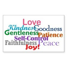 Fruit of the Spirit Decal