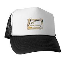 #1 Handyman Trucker Hat