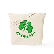 O'snap Funny Shamrock Tote Bag