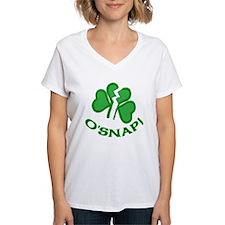O'Snap Funny Shamrock Shirt