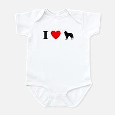 I Love Groenendaels Baby Bodysuit