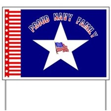 Proud Navy Family Yard Sign