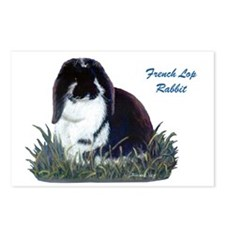 French Lop Rabbit Postcards (Package of 8)