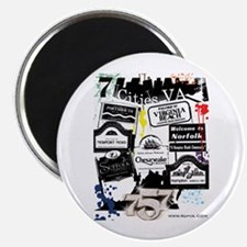 """7 Cities 2.25"""" Magnet (100 pack)"""