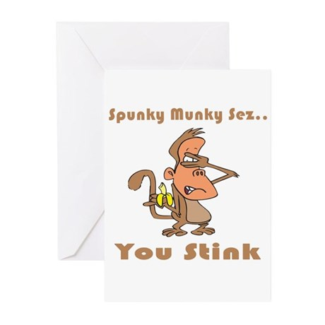 You Stink Greeting Cards (Pk of 10)