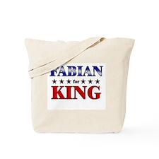FABIAN for king Tote Bag