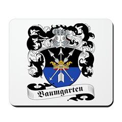 Baumgarten Family Crest Mousepad