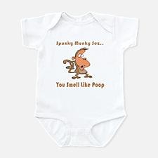 You Smell Like Poop Infant Bodysuit