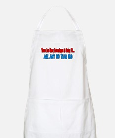 advantage to 70 ask 80 BBQ Apron