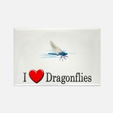 I Love Dragonflies Rectangle Magnet