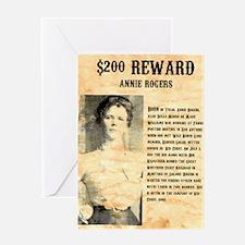 Annie Rogers $ Reward Greeting Card