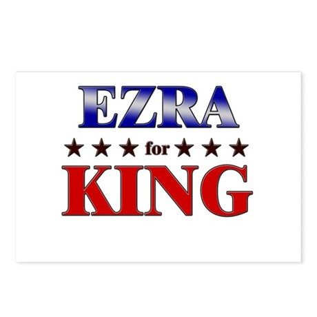 EZRA for king Postcards (Package of 8)