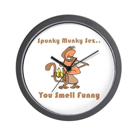 You Smell Funny Wall Clock