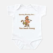 You Smell Funny Infant Bodysuit