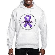 Purple Ribbon of Hope Hoodie