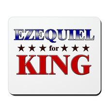 EZEQUIEL for king Mousepad