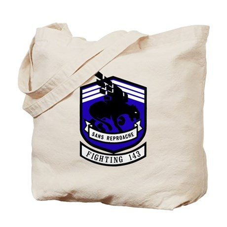 VF 143 / VFA 143 Puking Dogs Tote Bag