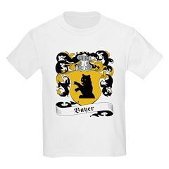 Bayer Family Crest Kids T-Shirt