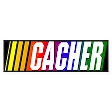 """""""CACHER"""" Bumper Bumper Sticker"""