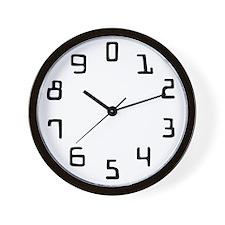 1-9 Wall Clock