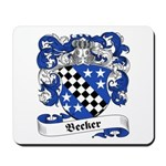Becker Family Crest Mousepad