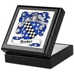 Becker Family Crest Keepsake Box