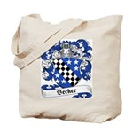 Becker Family Crest Tote Bag