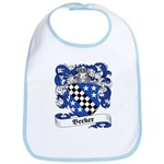 Becker Family Crest Bib